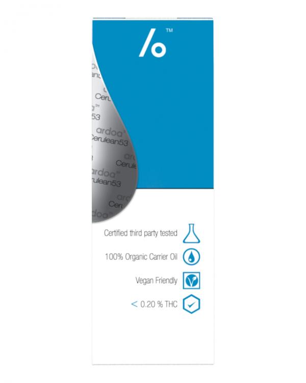 Ardoa, S-Drops, CBD Oil, Cerulean53, 10ml, 15% Cannabinoid Content